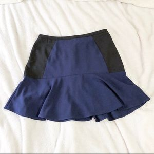 H&M | Black and Navy Skirt